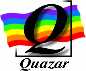 Logo Quazar, centre LGBTI+ Angers et 49