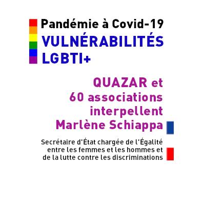 Pandémie à COVID19 vulnérabilité LGBTI+