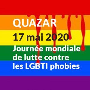 17 mai 2020 luttons contre les LGBTphobies