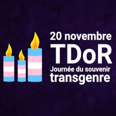 bougies, souvenir trans