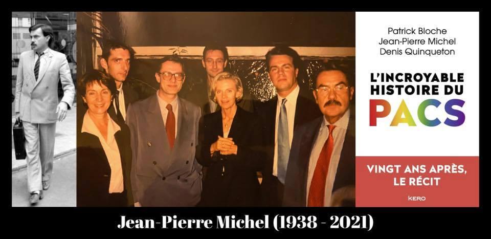 Jean-Pierre Michel, pacs