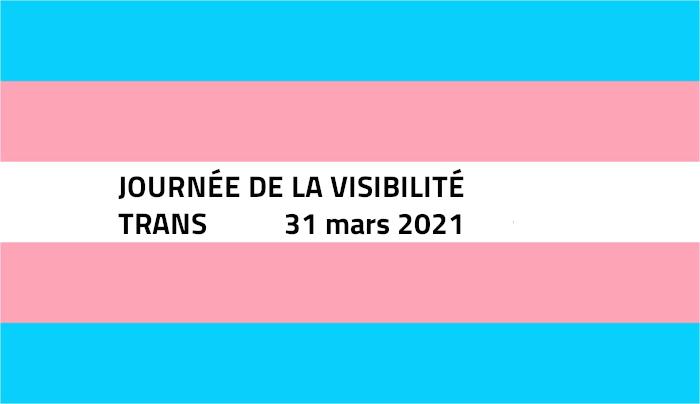 Journée Internationale de la Visibilité Trans - TDOV 2021