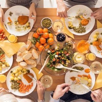 conviviales de Quazar, partage, repas