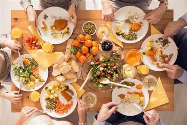 conviales Quazar, repas partagé